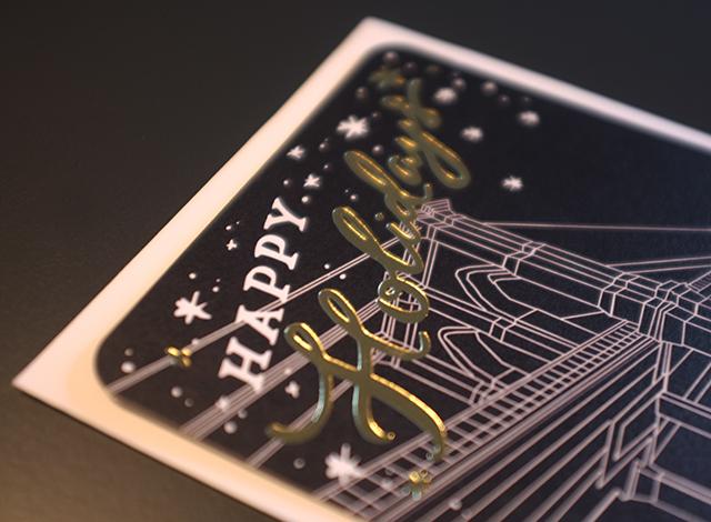 Christmas Card-detail