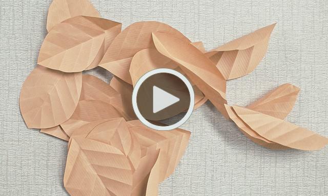 Paper Leaf Garland_Play Video