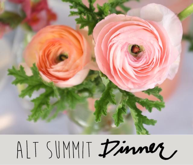 Alt Summit Dinner