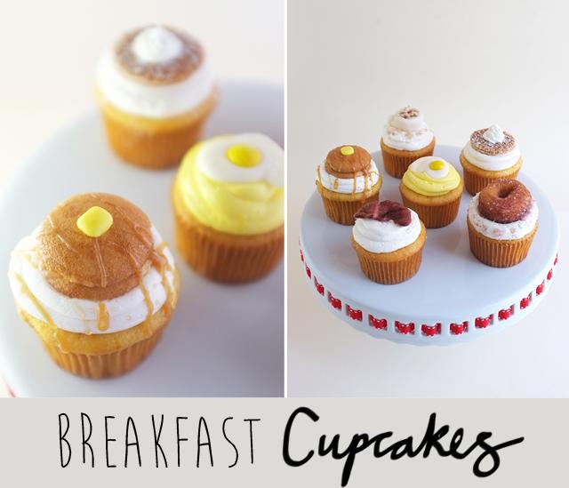 Breakfast Cupcakes DIY