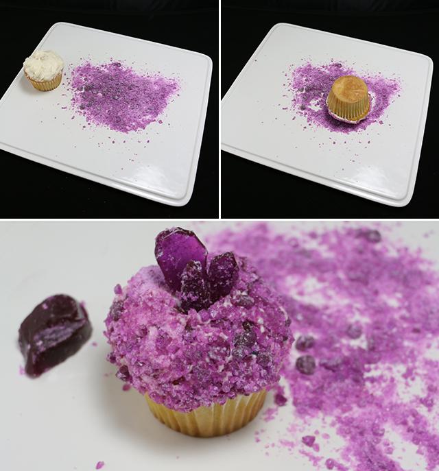 AJM DIY Gemstone Cupcakes Part 1