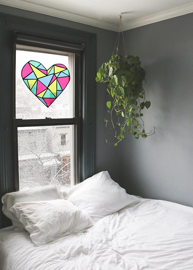 Geometric Stained Glass Window_2