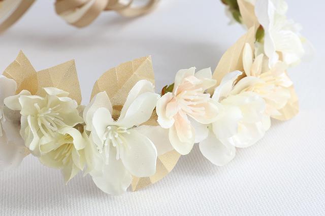 Silk Paper Crown_detail