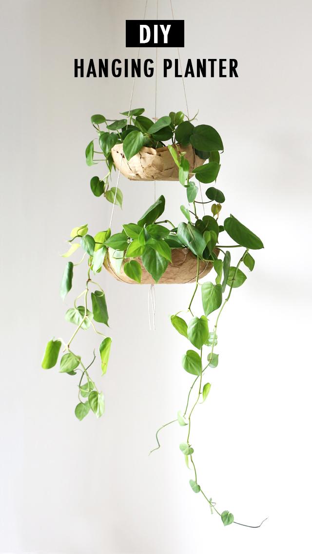 DIY Hanging Planter Tutoria