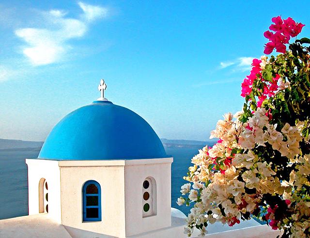Greece Blue Dome