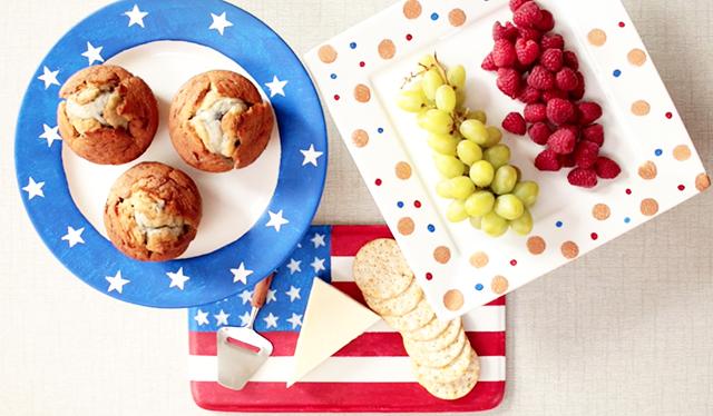 Patriotic-Cake-Plates