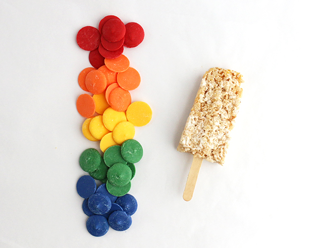 Rice Krispies Popsicle DIY 1