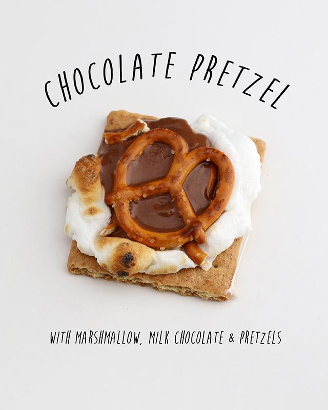 Chocolate Pretzel Smore