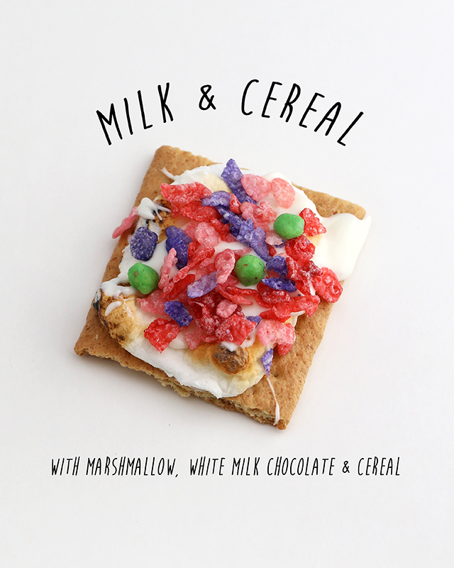 Kids Cereal Smore