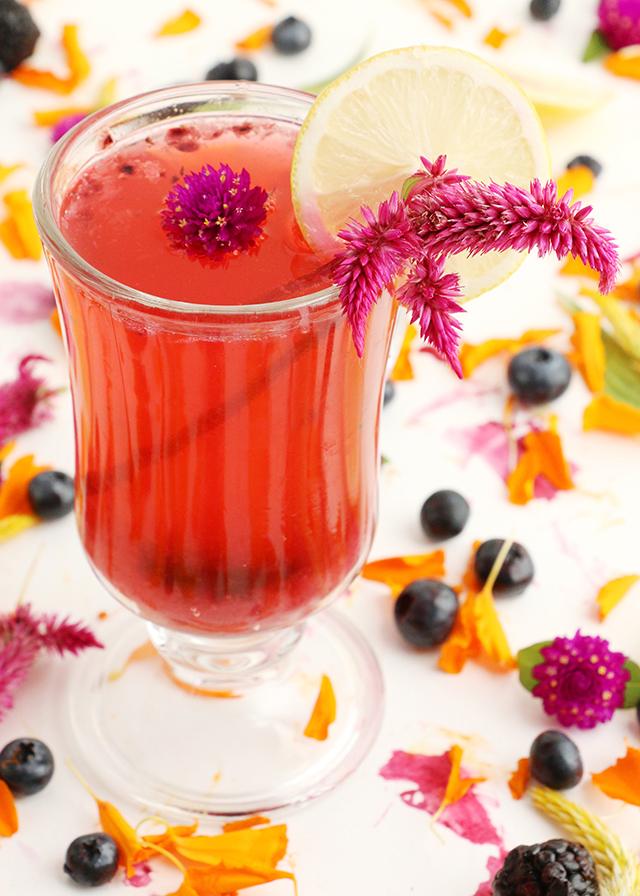 Blackberry Vodka Cocktail 7