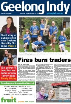 Fires burn traders