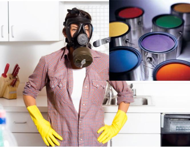 Burning Paint Fumes
