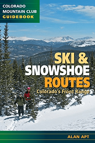 Book Cover: Ski and Snowshoe Routes, Colorado's Front Range