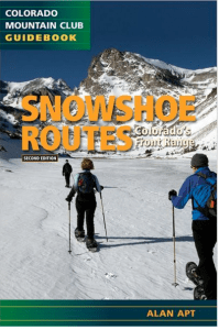 Book Cover: Snowshoe Routes, Colorado's Front Range