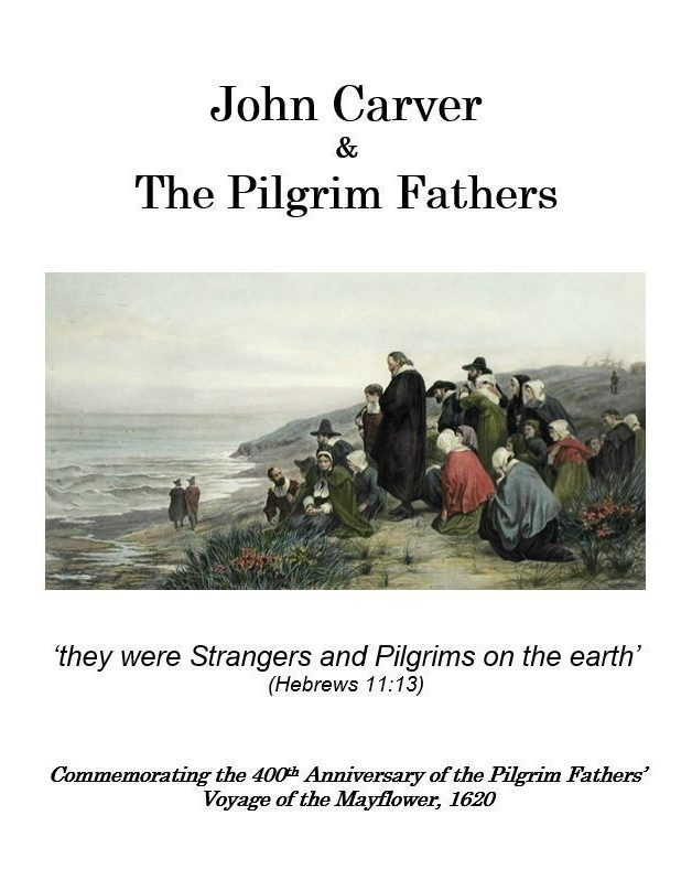 Cover of John Carver & The Pilgrim Fathers booklet