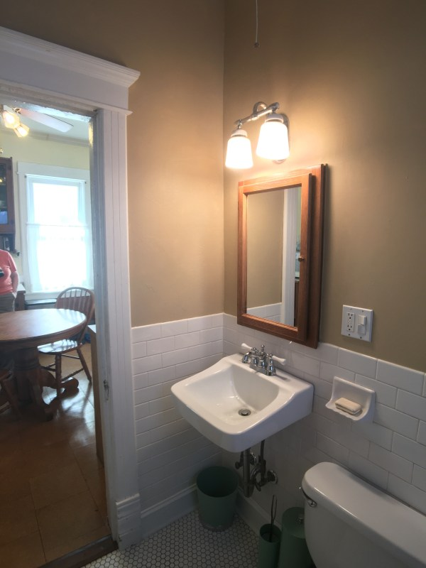 1897 Farmhouse bathroom