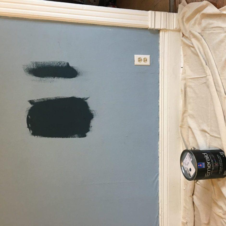 Farmhouse dining room paint