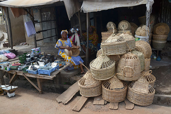 basketlady with shop