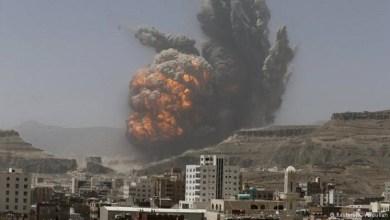 Photo of التحالف يرد على هجوم أبها ويقصف مواقع حوثية هامة بصنعاء