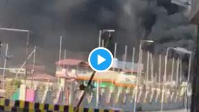 Photo of شاهد الفيديو …لهذا السببب أحرقت مليشيات الحزام الإماراتية محطة بترول في عدن