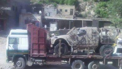 """Photo of الإمارات تسحب معداتها العسكرية من اللواء 35 وكتائب """"أبو العباس"""" بتعز"""