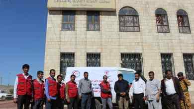 Photo of مأرب : مكتب الصحة يتسلم سيارة إسعاف من جمعية الهلال الأحمر