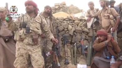 Photo of بالفيديو : مشاهد بطولية لأبطال الجيش الوطني أثناء اقتحامهم لمواقع المليشيات في جبهة نهم