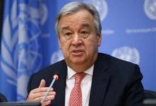 Photo of الأمين العام للأمم المتحدة: اليمن أكثر دول العالم ضعفا في مواجهة كورونا