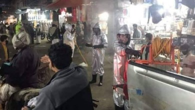 Photo of بالفيديو : إغلاق سوق السلام في صنعاء بعد الاشتباه بـ3 حالات إصابة بكورونا