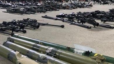 Photo of شاهد الصور : التحالف يضبط شحنة أسلحة إيرانية قبالة سواحل اليمن