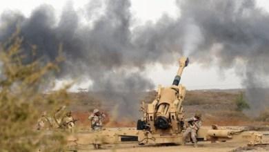 Photo of مصرع 5 حوثيين بنيران مدفعية الجيش الوطني في جبهة باقم بصعدة