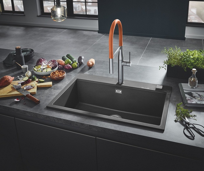 as if made from one piece grohe offers