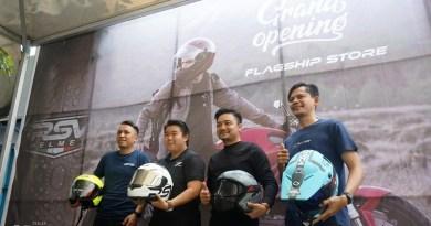 Flagship Store RSV Helmet Kini Hadir di Kota Bekasi