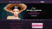 hair and beauty salon. logo