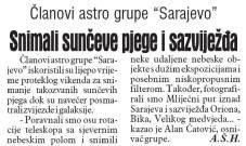 Dnevni avaz, 20.10.2014. str 12