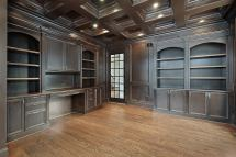Custom Library Shelves & Built In Closets - Cabinetry Ct