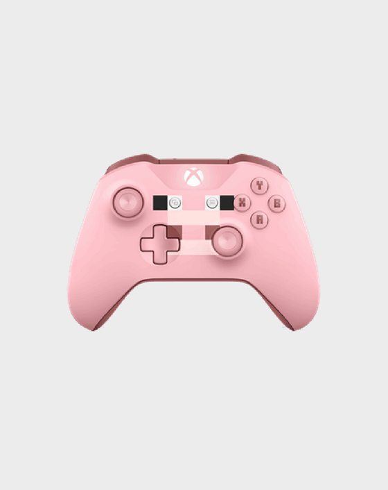 Xbox Wireless Controller - Minecraft Pig