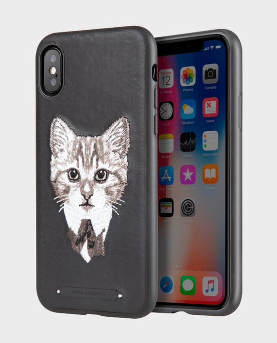 Viva Madrid Culto Feline Fine For iPhone X in Qatar and Doha