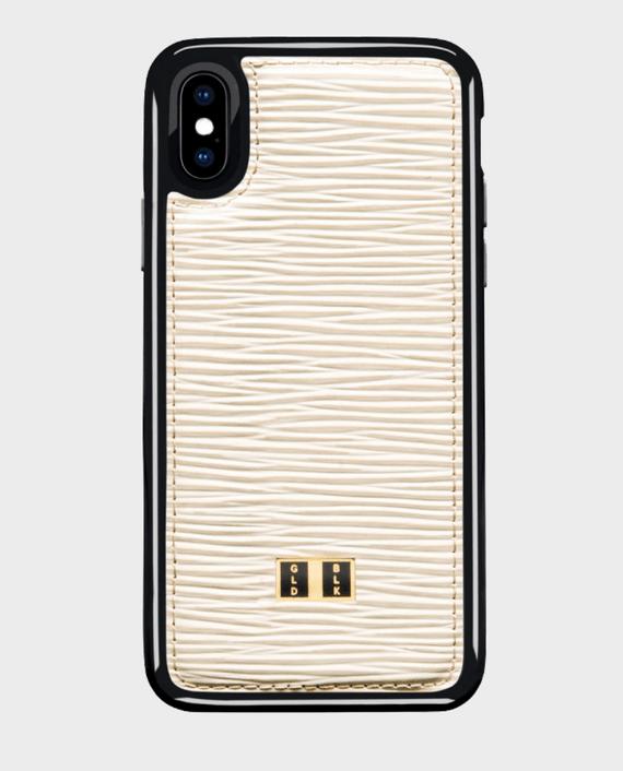 Gold Black iPhone X Case Unico White in Qatar