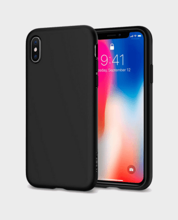 Spigen iPhone X Case Liquid Crystal Matte in Qatar