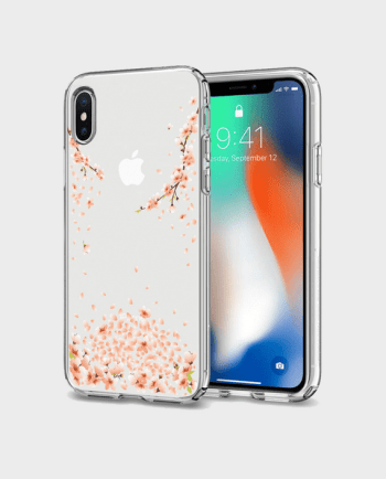 Spigen iPhone X Case Liquid Crystal Blossom in Qatar and Doha
