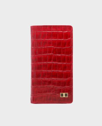 Gold Black Smart Wallet Billion Croco Red in Qatar