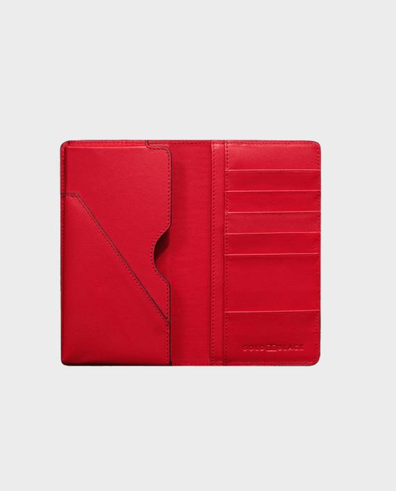Gold Black Smart Wallet Billion Unico Red