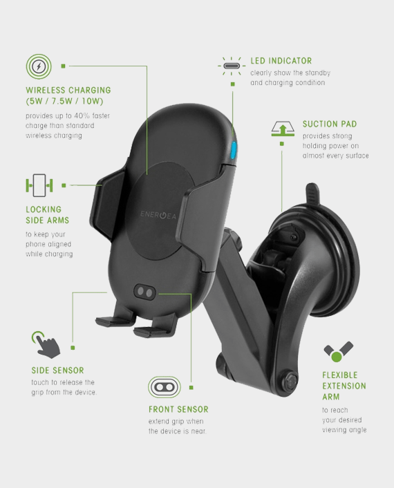 Buy Car Mount Wireless Charger in Qatar
