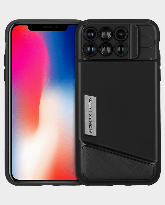 Momax X-Lens Case For iPhone X in Qatar