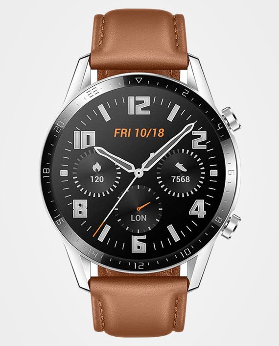 Huawei Watch GT 2 46mm Pebble Brown in Qatar