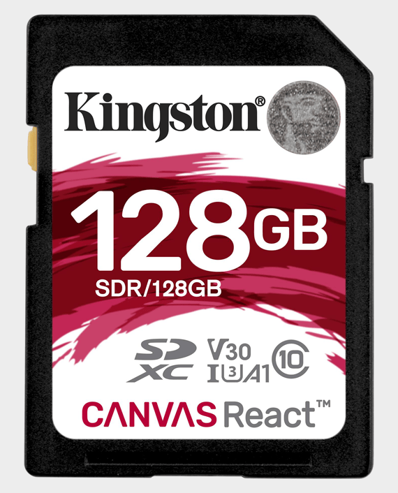 Kingston 128GB SD Canvas React 4K in Qatar