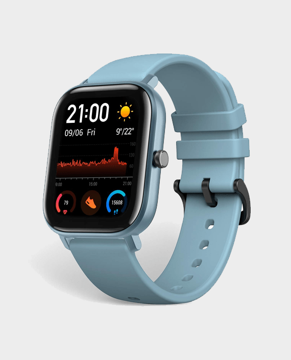 Huami Amazfit GTS Steel Blue in Qatar