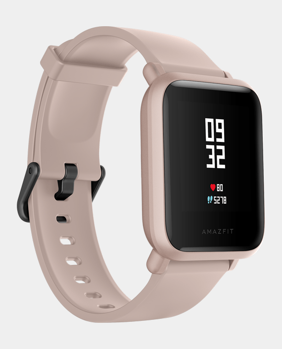 Amazfit Bip Lite Smart Watch Pink in Qatar
