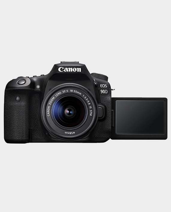 Canon EOS 90D + EF-S 18-55mm IS STM Lens in Qatar